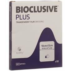 Bioclusive plus film dressing 10x12cm sterile 10 pcs