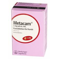 Metacam dogs kautabl 1 mg 84 pcs