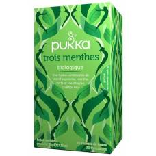 Pukka trois menthes thé bio btl 20 pcs