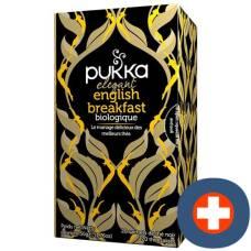 Pukka elegant english breakfast thé bio btl 20 pcs