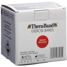Theraband medium 45mx12.7cm red strong