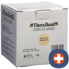 Theraband 45mx12.7cm extra light beige