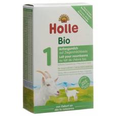 Holle infant formula 1 goat milk organic 400g