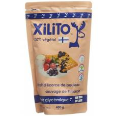 Xylitol xilito birch bark extract plv wilde finland 400 g