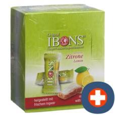 Ibons ginger candy display lemon 12x60g