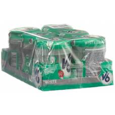 V6 white chewing gum spearmint 6 ds 60 pcs