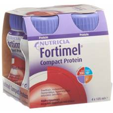 Fortimel compact protein waldfrucht 24 fl 125 ml