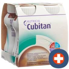 Cubitan ons chocolate 4 x 200 ml