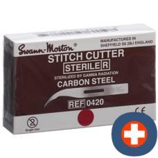 Swann morton thread cutter sterile 100 pcs