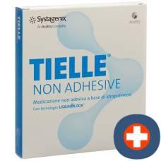 Tielle non adhesive foam dressing 15x15cm non-adhesive 10 pieces