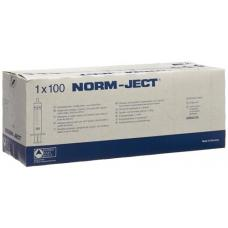 Hsw syringe norm-ject 10 ml of 2-piece eccentric 100 pcs