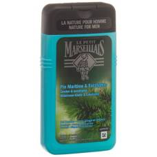 Le petit marseillais shower gel beach pine & eucalyptus 250 ml