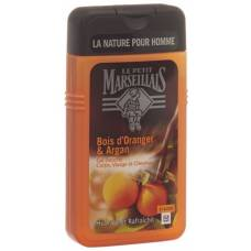 Le petit marseillais shower gel orange wood and argan 250 ml