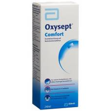 Oxysept comfort vitamin b12 + disinfectant solution neutralizing tablets combination 240 ml