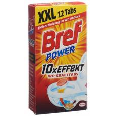 Bref power wc-tabs for the drain box 12 pc