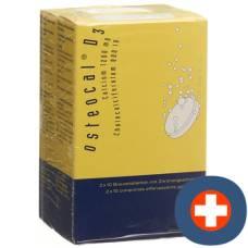 Osteocal d3 brausetabl 1200/800 40 pcs