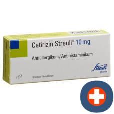 Cetirizine streuli filmtabl 10 mg 10 pcs