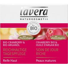 Lavera rich day cream 50ml cranberry