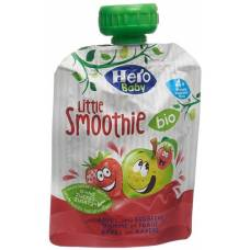 Hero baby organic smoothie apple strawberry btl 90 g