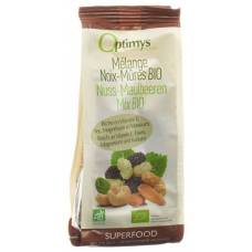 Optimy nut mulberries mix bio 200 g