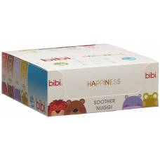 Bibi soother Happiness Densil 16+ Glow in the Dark SV-A 6 pcs