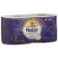Hakle pampering cleanliness of toilet paper fsc 2 pcs