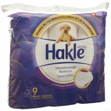 Hakle pampering cleanliness of toilet paper fsc 9 units