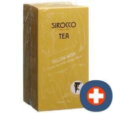 Sirocco tea bags yellow wish 20 pcs