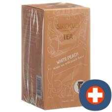 Sirocco teabags white peach 20 pcs