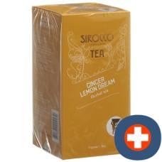 Sirocco teabags ginger lemon dream 20 pcs