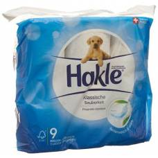 Hakle classic cleanliness of toilet paper white fsc 9 units
