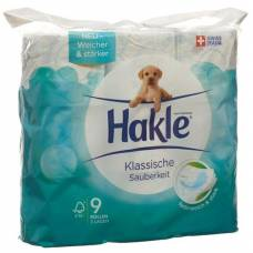 Hakle classic cleanliness of toilet paper blue fsc 9 units