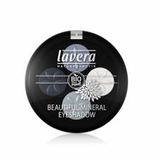 Lavera beautiful mineral eyeshadow quattro blue platinum 07 4 x 0.8 g