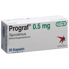 Prograf 0.5 mg kaps 50 pcs