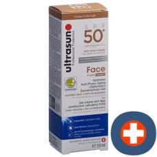 Ultrasun face tinted spf 50+ honey 50 ml