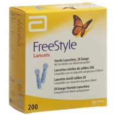 Abbott freestyle lancets 200 pcs