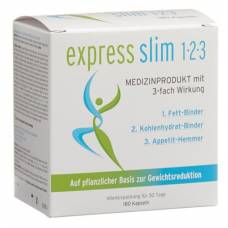Express slim 1-2-3 kaps with 3-fold effect 180 pcs