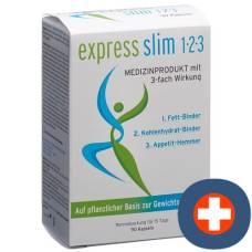 Express slim 1-2-3 kaps with 3-fold effect 90 pcs