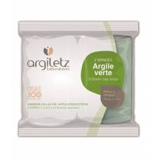Argiletz healing earth green instant 5mx8.5cm tying 2 pcs