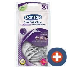 Dentek floss sticks comfortclean 36 pcs