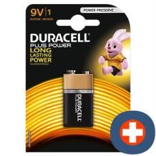 Duracell battery plus power mn1604 9v