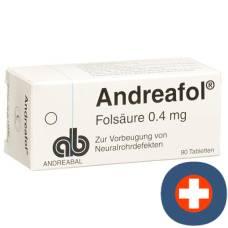 Andreafol tbl 0.4 mg 90 pcs
