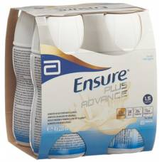 Ensure plus advance vanilla 4 x 220 ml
