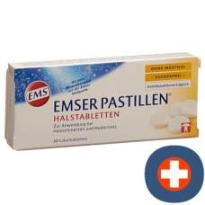 Emser pastilles without menthol sugarfree 30 pcs