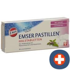 Emser pastilles sugar free with sage 30 pcs
