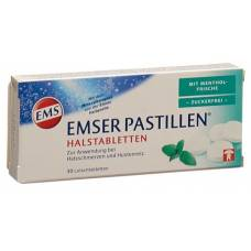 Emser pastilles sugar free menthol fresh 30 pcs