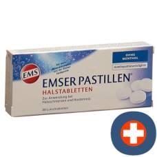 Emser pastilles without menthol 30 pcs