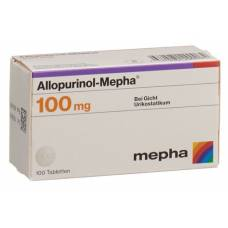 Allopurinol mepha tbl 100 mg 100 pcs
