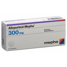 Allopurinol mepha tbl 300 mg 30 pcs