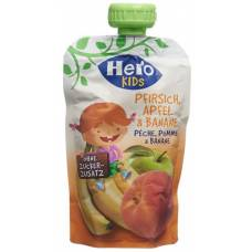 Hero kids smoothie peach apple banana btl 120 g